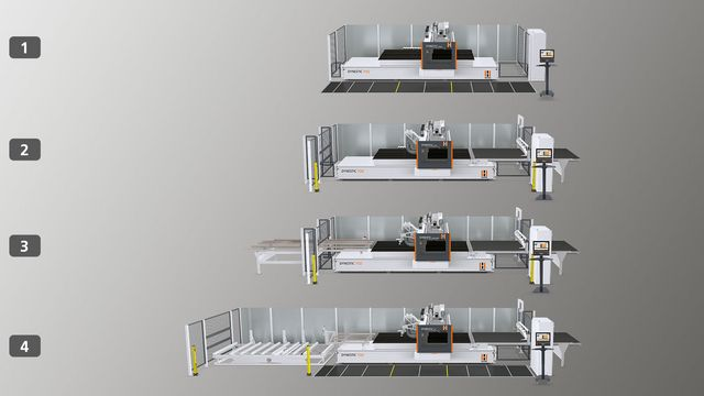 Automated Nested Base CNC's