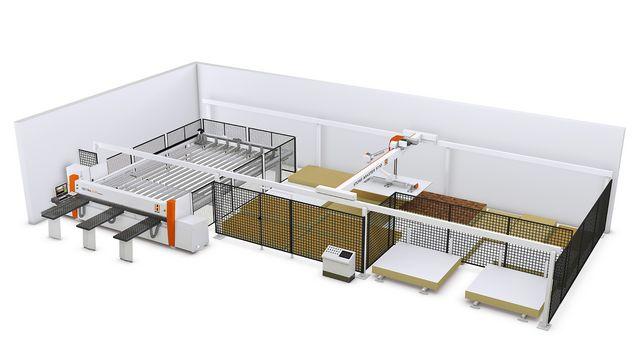 Panel retrieval/Storage systems